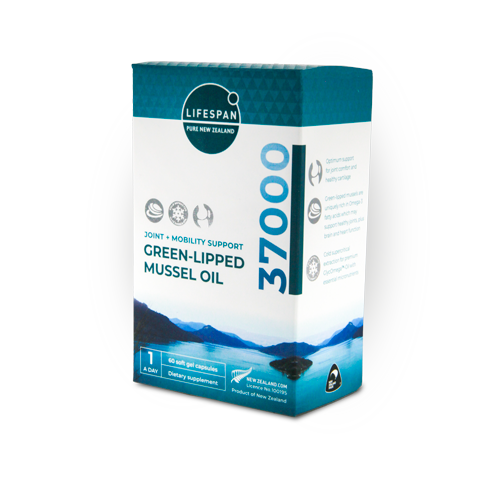 joint and mobility support Green-lipped mussel oil 37000